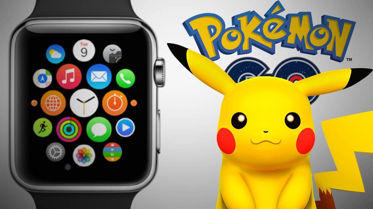 Pokémon Go disponible sur Apple Watch!!!