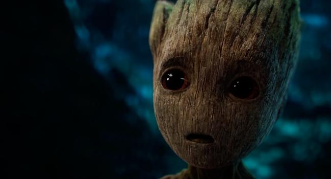 Groot est de retour ! Nouvelle bande annonce des Gardiens de la Galaxie II !!