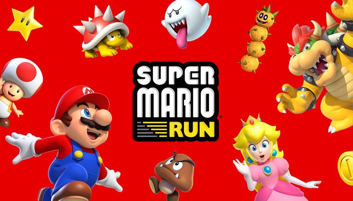 Super Mario Run bientôt disponible sur Android!!!