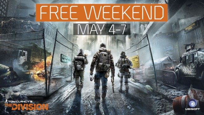 Jouer gratuitement ce week-end à THE DIVISION!!!