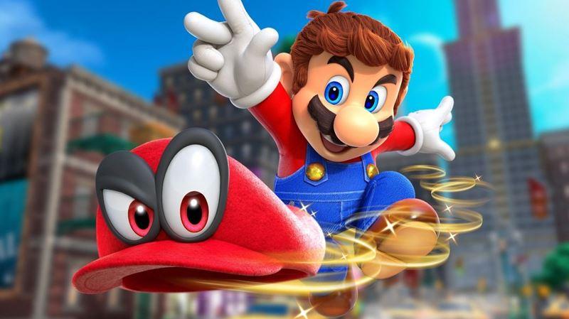J-4 avant la sortie de Super Mario Odyssey sur Nintendo Switch!