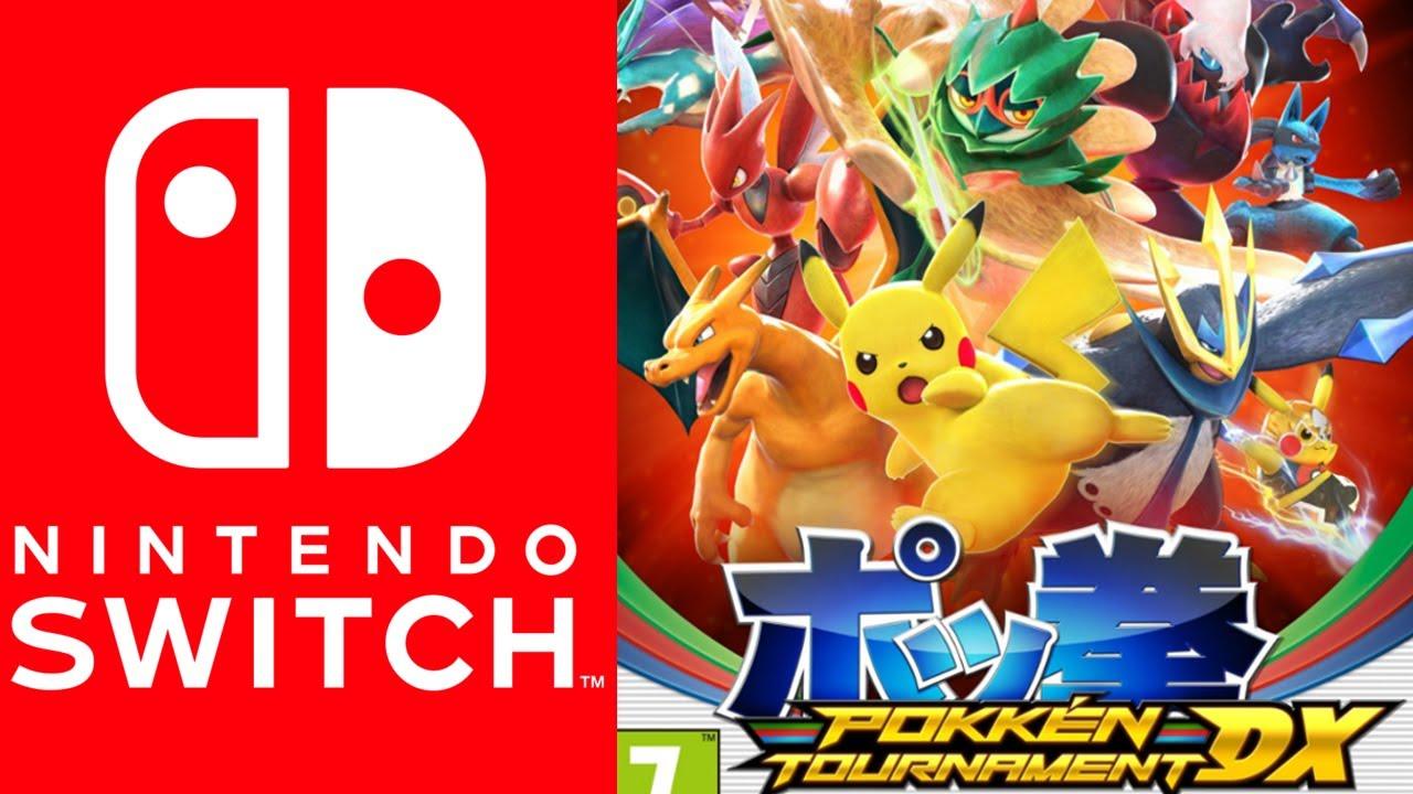 Pokkén Tournament DX disponible en vente sur Nintendo Switch !