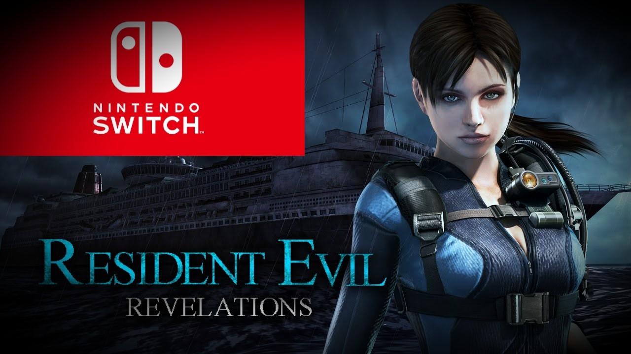 J-3 avant la sortie de RESIDENT EVIL REVELATIONS 1 et 2 sur Nintendo Switch !