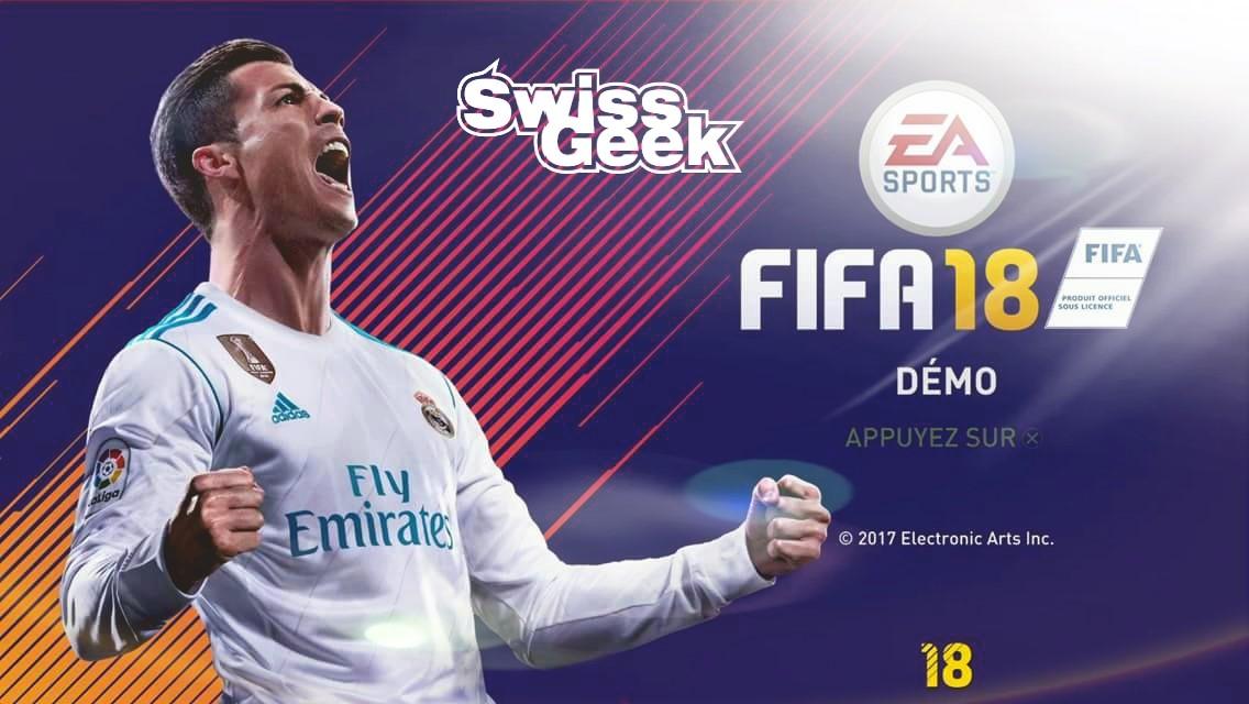 La démo de FIFA 18 disponible sur Ps4 et Xbox One!!!
