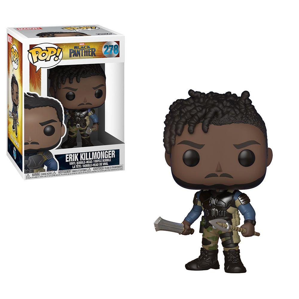 Figurine Pop Erik Killmonger Black Panther