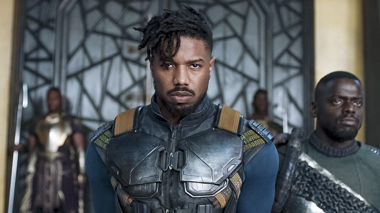 Quand Michael B. Jordan alias Killmonger dans Black Panther se prend pour le prince des guerriers de l'espace !!