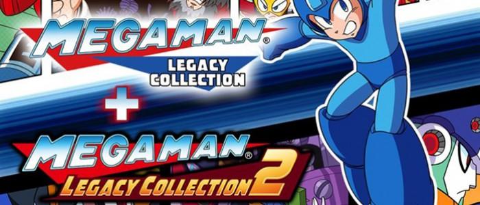 Mega Man Legacy Collection sera disponible le 22 Mai sur Nintendo Switch !