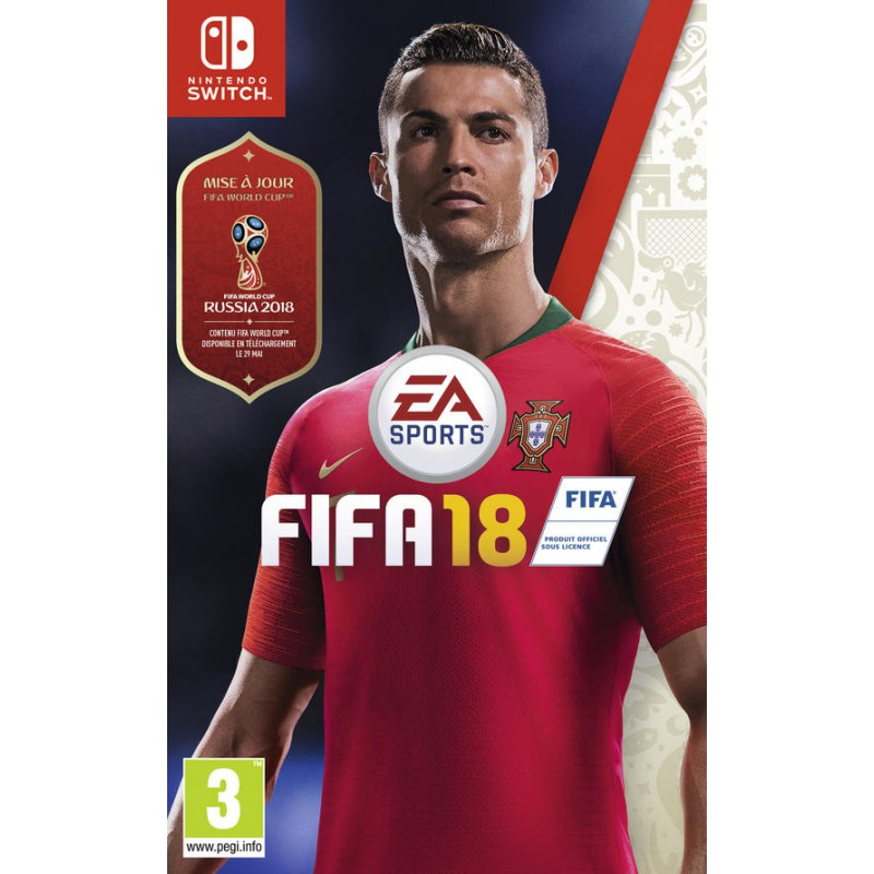 JEU NINTENDO SWITCH FIFA 18