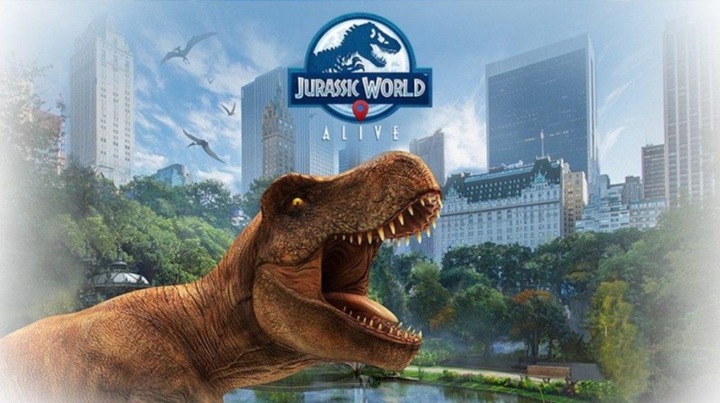 Jurassic World Alive : Le cadeau de pré-inscription est arrivé