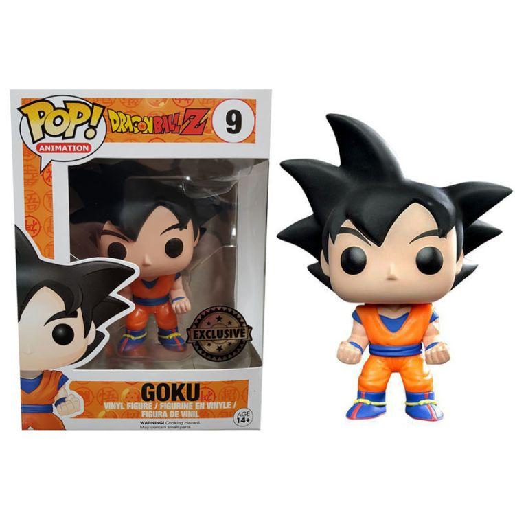 Funko POP Dragon Ball Z Black Hair Goku Exclusive