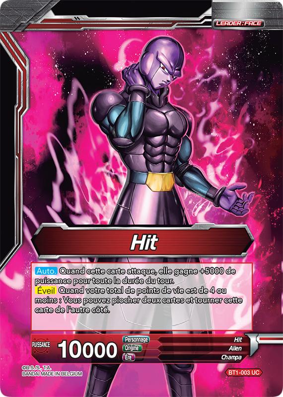 BT1-003 Hit // Hit le tueur à gages