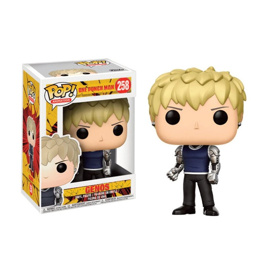 GENOS – ONE PUNCH MAN (258) – POP ANIMATION (FIGURINES)