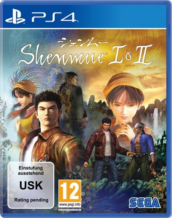 Shenmue I & II Ps4