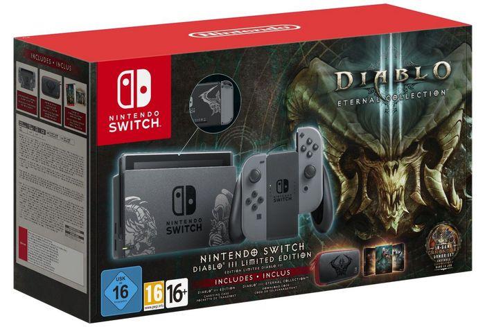 Nintendo Switch Console – Diabolo III Limited Edition