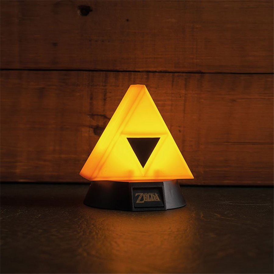 LAMPE – 3D – TRIFORCE – ZELDA – 10CM