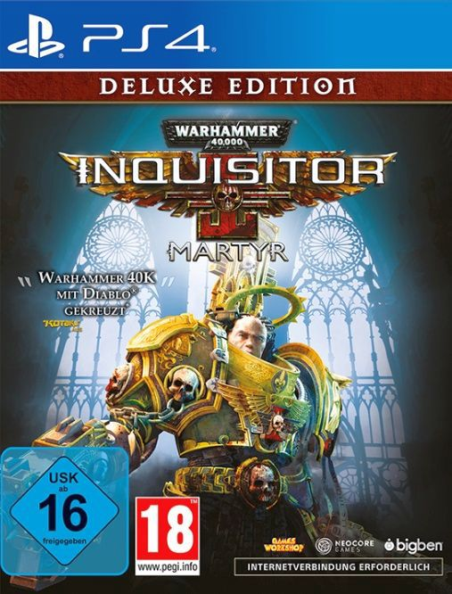 Warhammer 40.000 Inquisitor Martyr – Deluxe Edition [PS4]