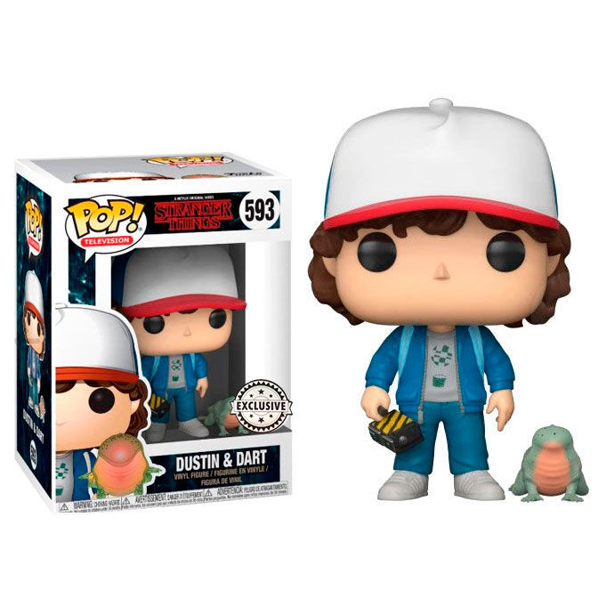 Funko POP Stranger Things 593 Dustin with Baby Dart Exclusive