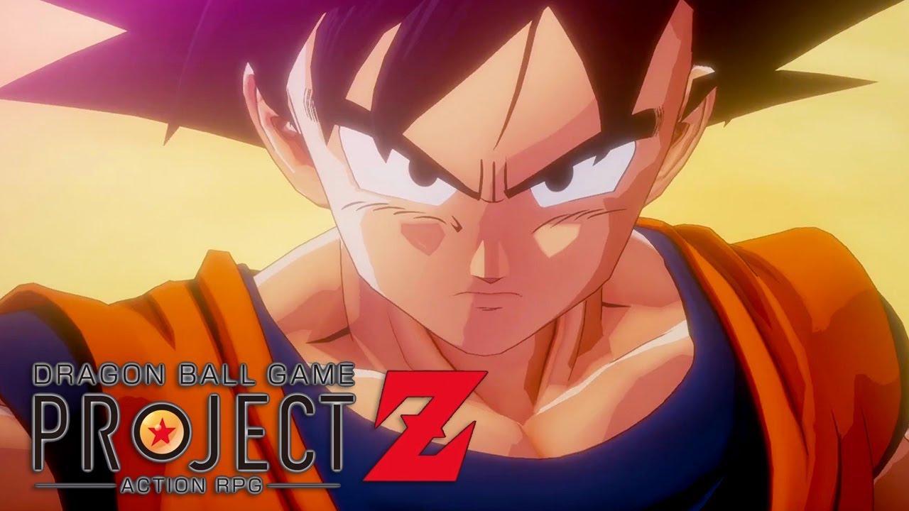 Première bande annonce de Dragon Ball Game Project Z !!