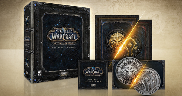 PC/Mac – World of Warcraft: Battle for Azeroth – Collector's Edition /F/D/I