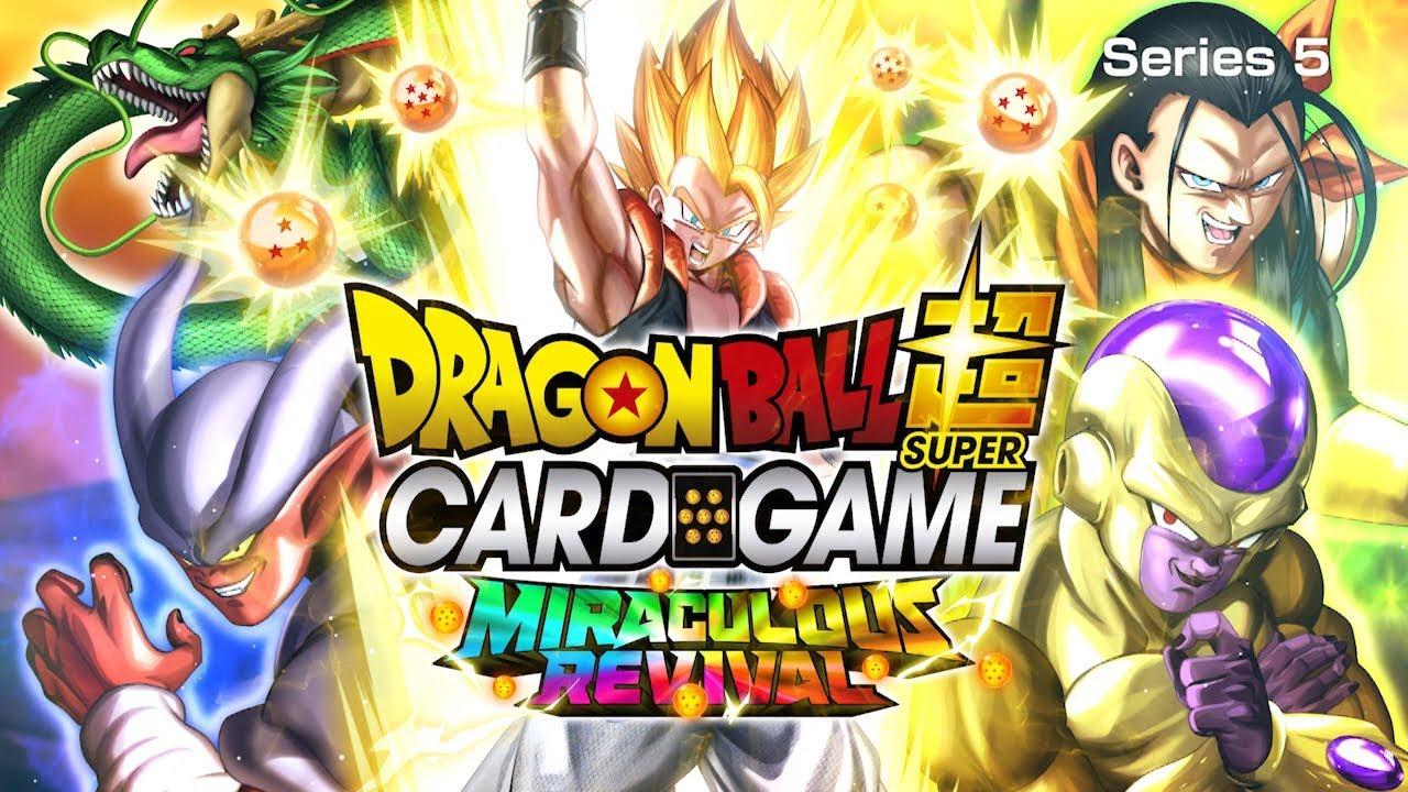 Concours SwissGeek: Dragon Ball super Card Game Resurrected Fusion !!