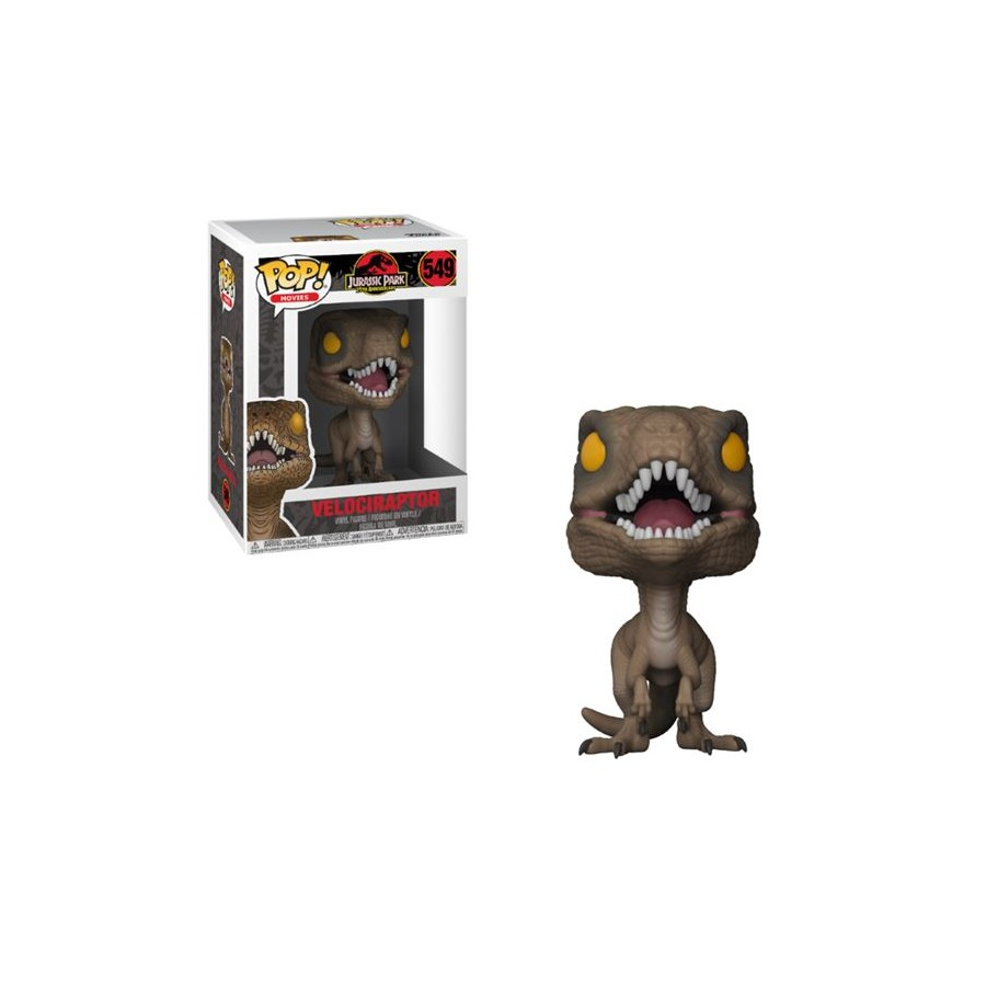Funko Pop Vinyl Figurine-Jurassic Park-vélociraptore funko pop Personnage-Série 549