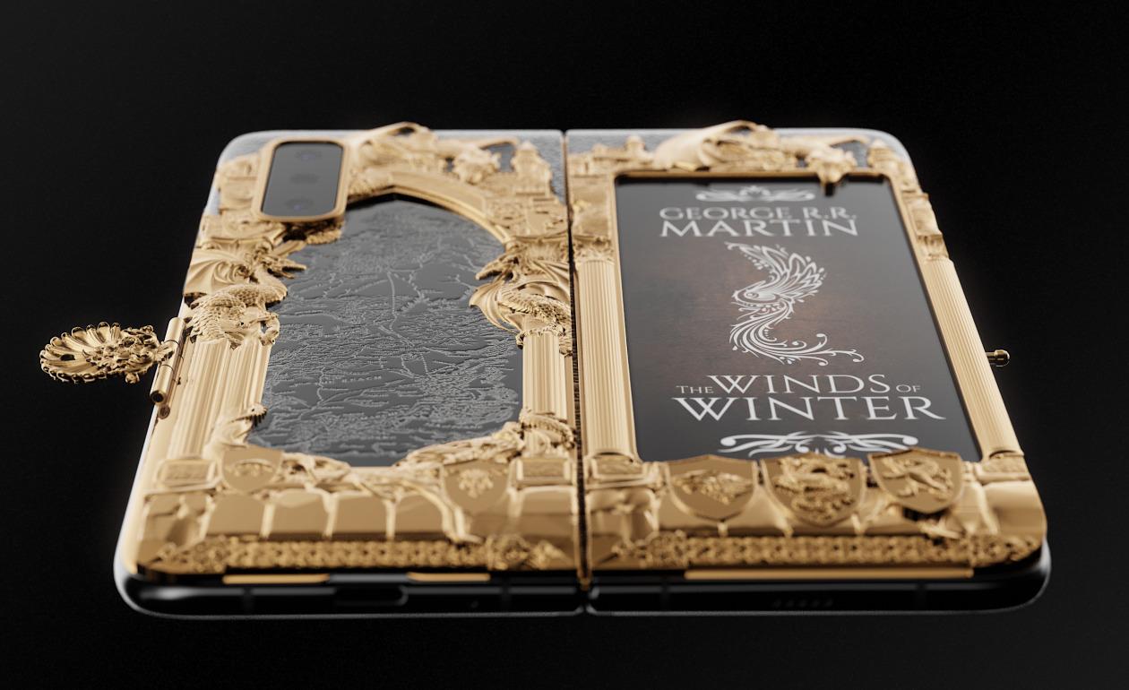 Samsung Fold : une édition dédiée à Game of Thrones par Caviar.