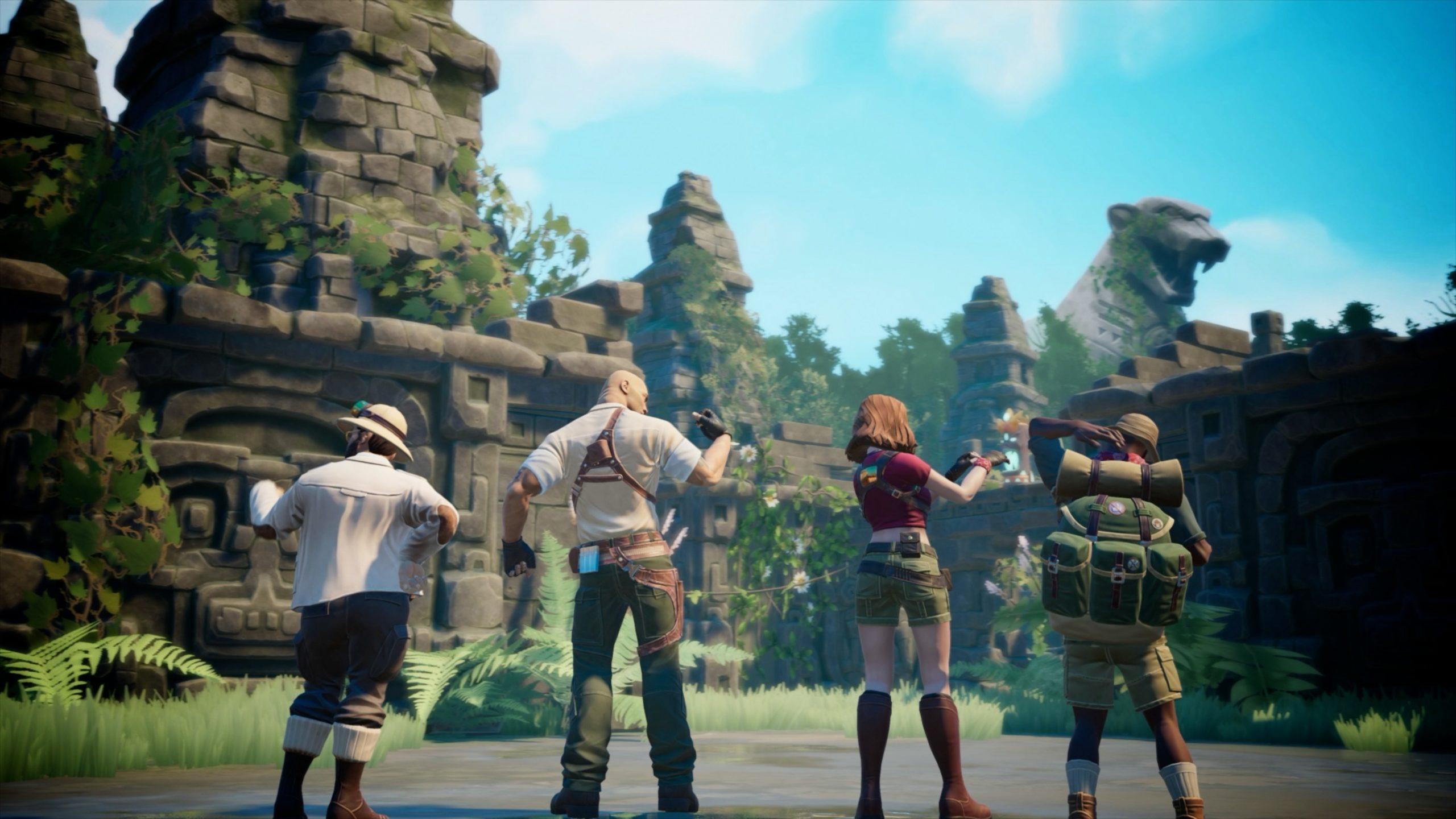 Bandai Namco annonce: Jumaji The Video Game via un trailer cartoonesque!!