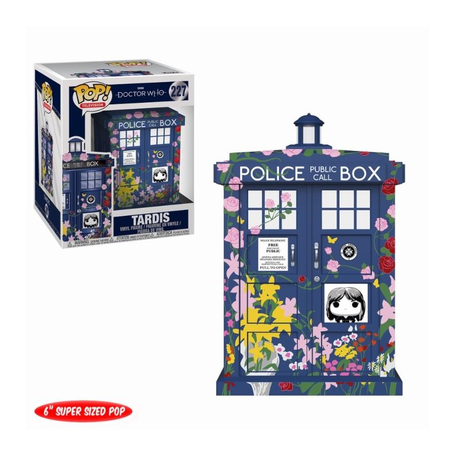 TARDIS – CLARA MEMORIAL – DOCTOR WHO (227) – POP TELEVISION – OVERSIZE