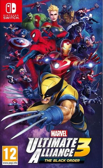 Marvel Ultimate Alliance 3: The Black Order (F)