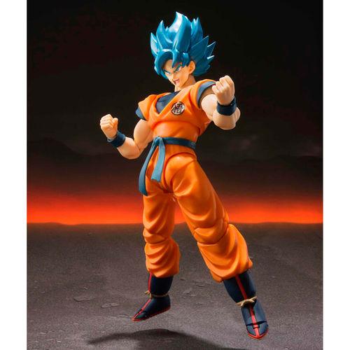 S.H Figuarts SonGoku SSJ Blue Dragon Ball Super Broly