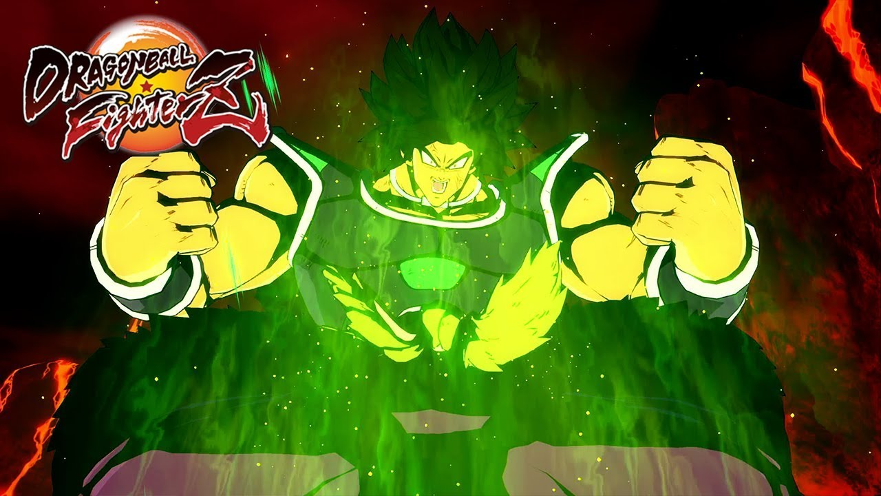 Dragon Ball fighterZ: Une nouvelle bande annonce de folie pour le DLC de Broly version DBS !!