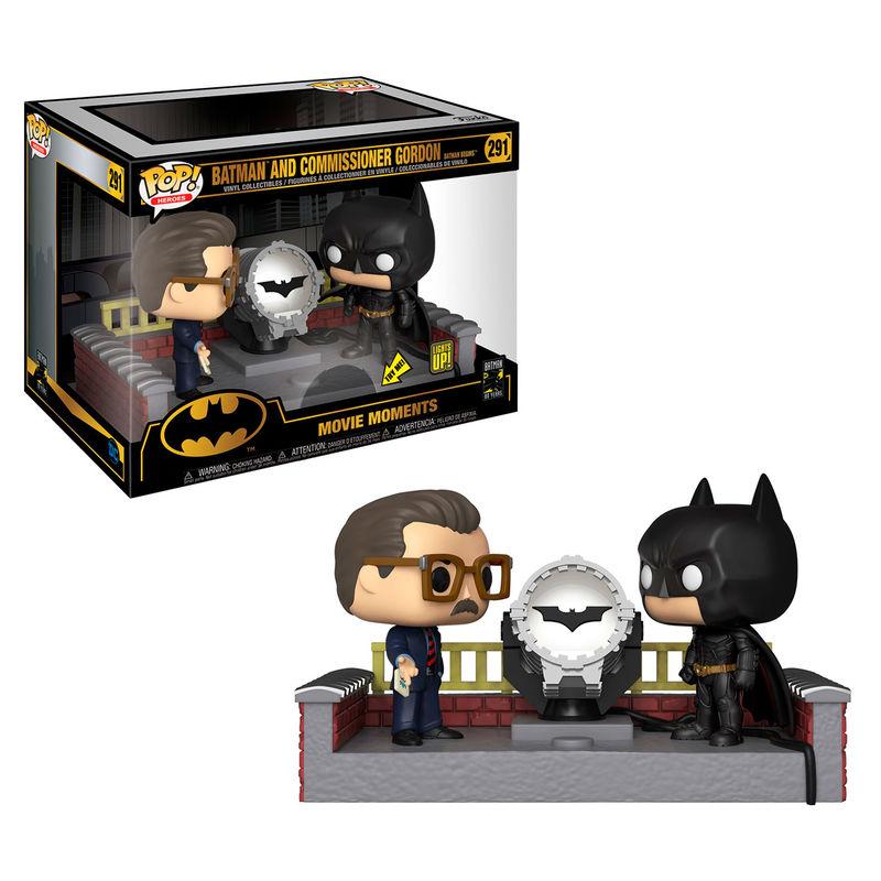 Figurine Funko Pop DC Comics Batman 80th with Light Up Bat Signal