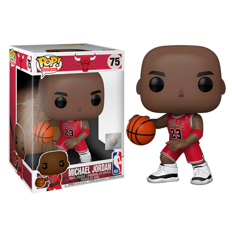 Funko POP NBA Bulls Michael Jordan Red Jersey 25cm