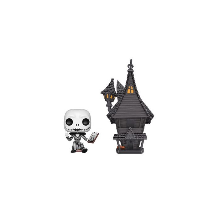 JACK W/ JACK'S HOUSE – NIGHTMARE BEFORE (07) – POP TOWN – OVERSIZE