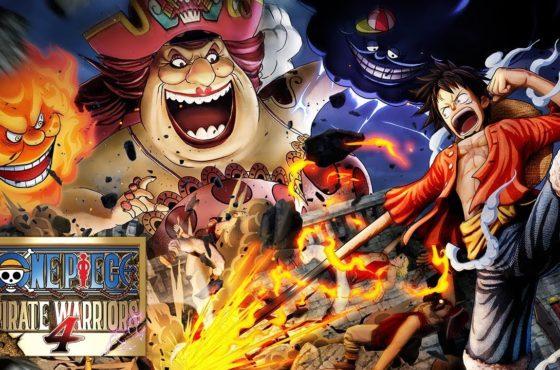 La publicité japonaise pour le prochain jeu One Piece: Pirate Warriors 4