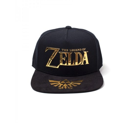CASQUETTE – THE LEGEND OF ZELDA – ZELDA – FOND NOIR