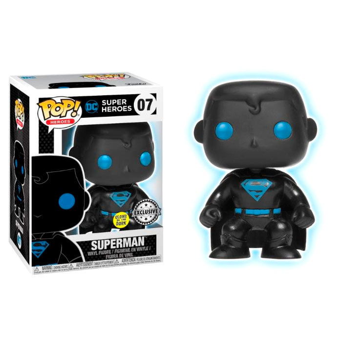 Figurine Funko POP DC Comics Justice League Superman Silhouette Exclusive