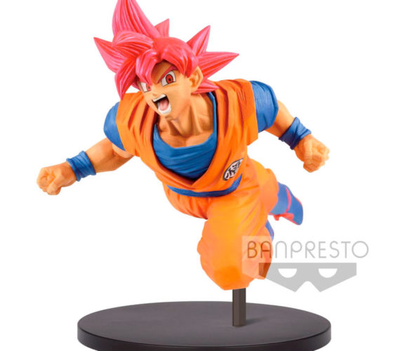 Figurine Super Saiyan God Son Goku Fes Dragon Ball Super 15 cm