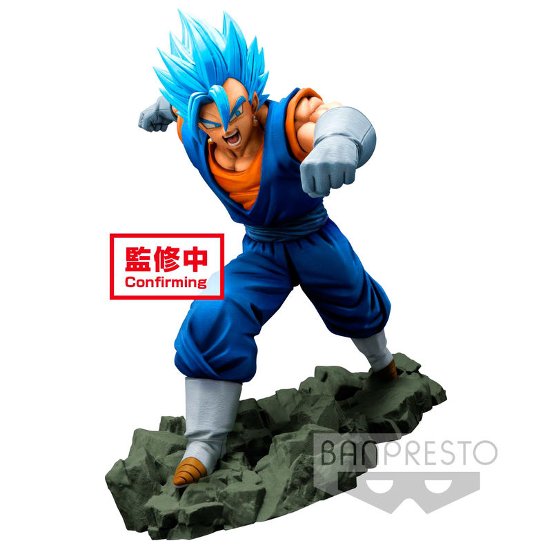 Figurine Super Saiyan Blue Vegetto Dokkan Battle Dragon Ball Z 16cm