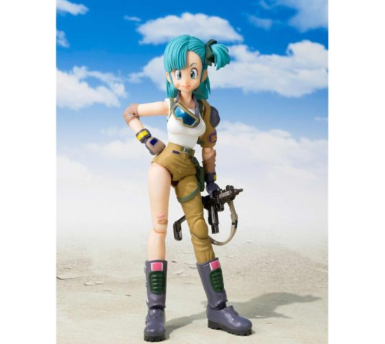 S.H. FIGUARTS – BULMA – DRAGON BALL – 13.5CM