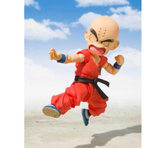 S.H. FIGUARTS – KRILLIN CHILD – DRAGON BALL – 10CM