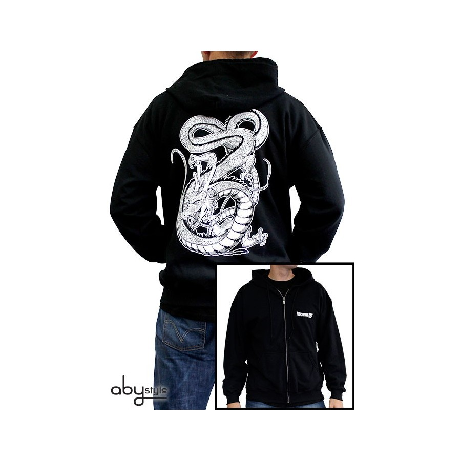 SWEAT SHENRON – DRAGON BALL Z (NOIR ET BLANC)
