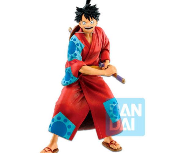 Figura Monkey D. Luffy Japanese style One Piece 25cm