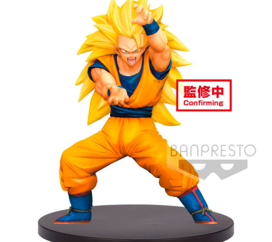 Figurine Super Saiyan 3 Son Gokou Dragon Ball Super Chosenshiretsuden vol. 4 16cm