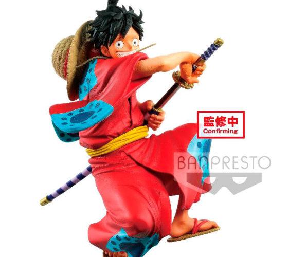 Figurine D. Luffy Wanokuni King Of Artist One Piece 16cm