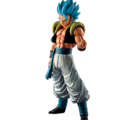 Figurine Super Saiyan God SS Gogeta Extreme Saiyan Dragon Ball Super 30cm