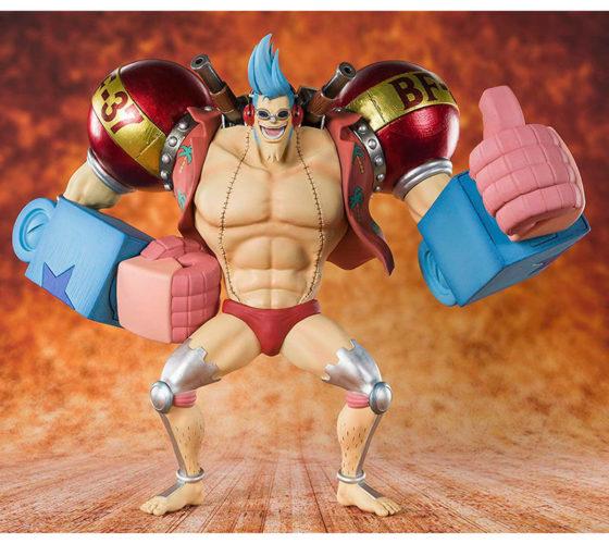Figurine Figuarts zero Cyborg Franky One Piece 20cm