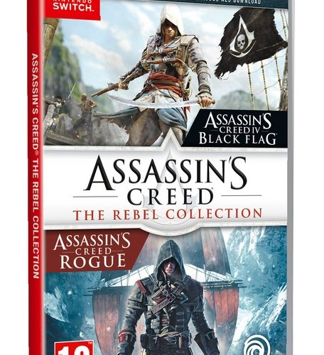 Assassin's Creed: The Rebel Collection (Black Flag & Rogue) [NSW]