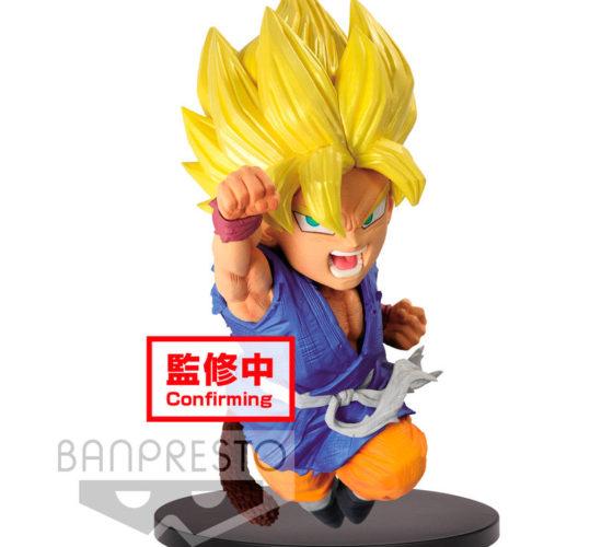 Figurine Super Saiyan Son Goku Wrath of the Dragon Dragon Ball GT 13cm