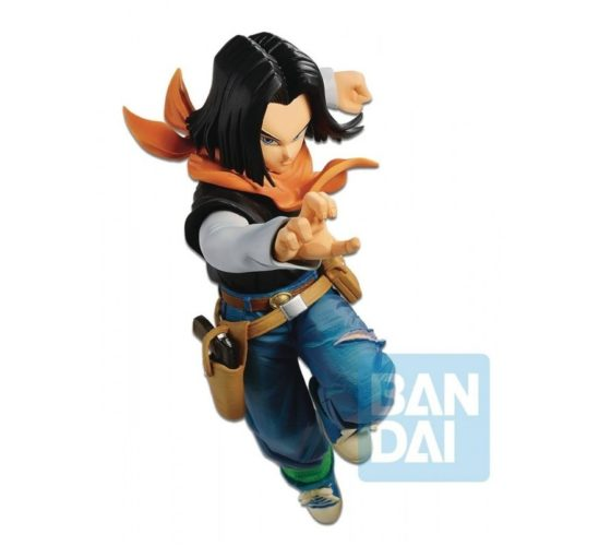 "ANDROÏD 17 – C17 – ""THE ANDROÏD BATTLE"" DRAGON BALL SUPER / FIGHTER Z – 20 CM"